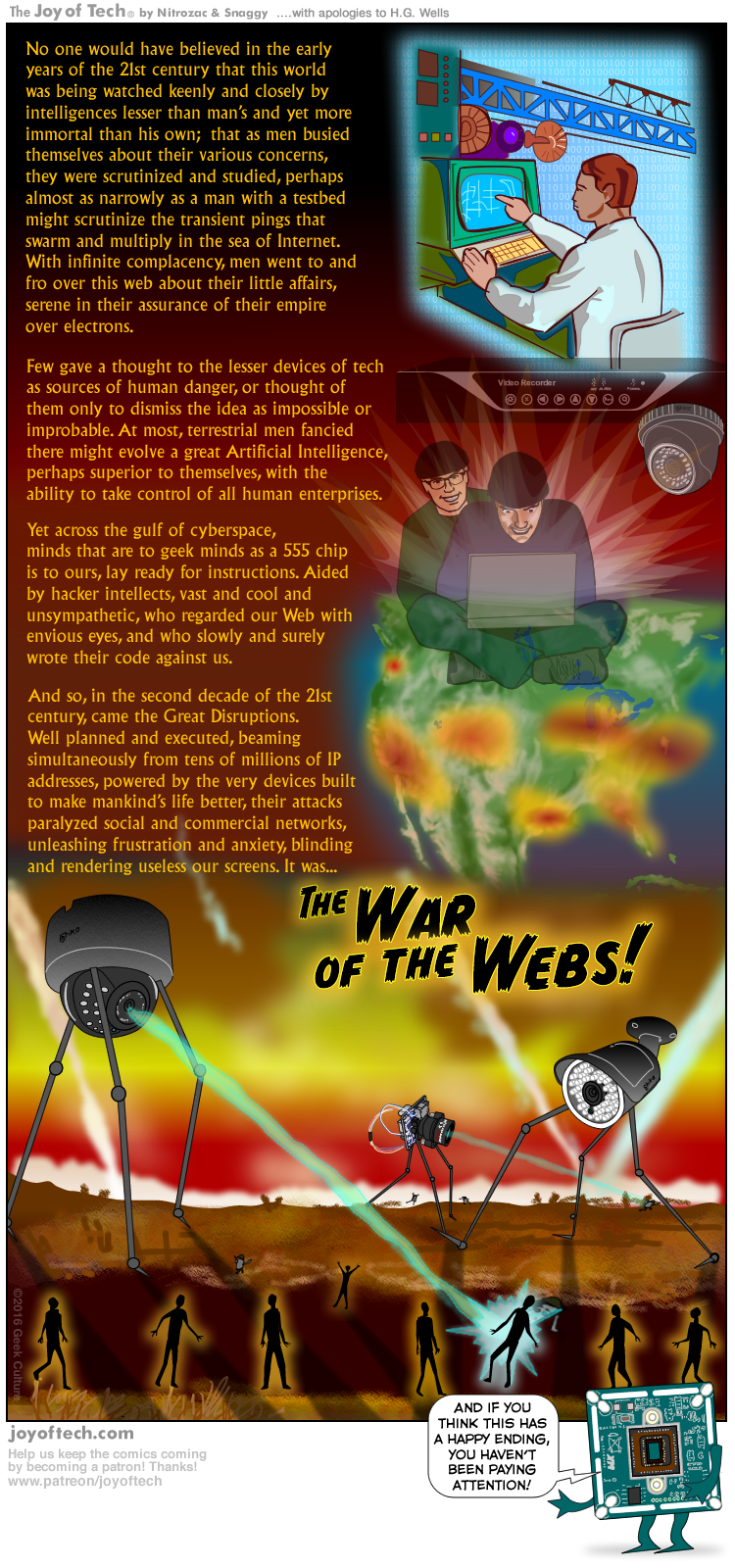 The War of the Webs!