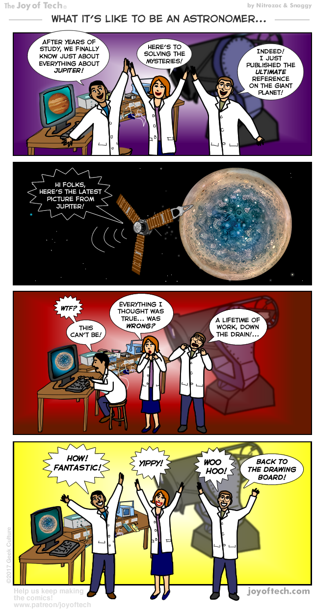 What it's like to be an astronomer