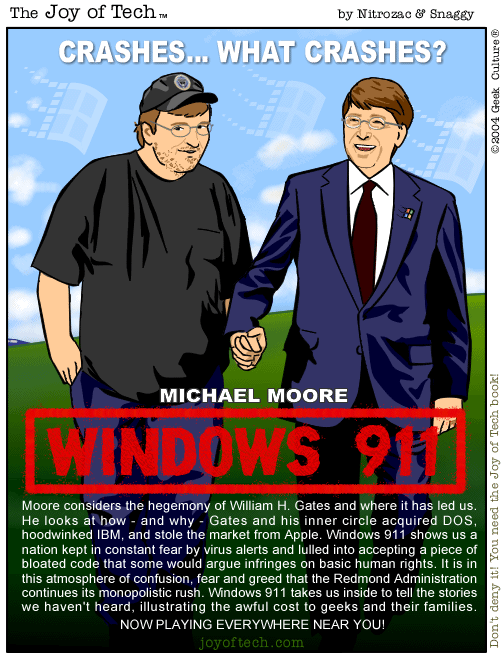 Michael Moore's Windows 911